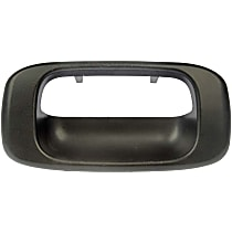 Tailgate Handle Bezel, Smooth Black