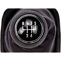 Dorman 76810 Shift Boot - Black, Rubber, Direct Fit, Sold individually