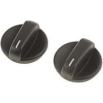 A/C Control Knob - Direct Fit, Set of 2