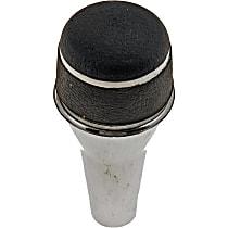 76937 Shift Knob - Chrome, Aluminum, Piston head, Direct Fit, Sold individually