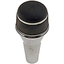 Dorman 76937 Shift Knob - Chrome, Aluminum, Piston head, Direct Fit, Sold individually