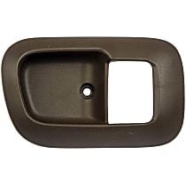 80504 Front, Passenger Side Door Handle Trim, Brown