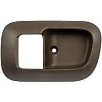 Front, Driver Side Door Handle Trim, Brown