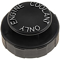 Dorman 82590 Coolant Reservoir Cap - Direct Fit, Sold individually