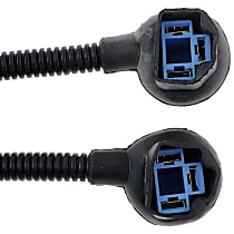 Bulb Socket - Headlight, Direct Fit, Set of 2