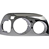Dorman 889-5212 Headlight Bezel - Chrome, Direct Fit, Sold individually