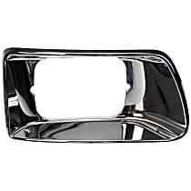 889-5405 Headlight Bezel - Chrome, Direct Fit, Sold individually