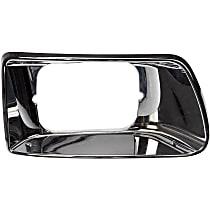 Dorman 889-5405 Headlight Bezel - Chrome, Direct Fit, Sold individually