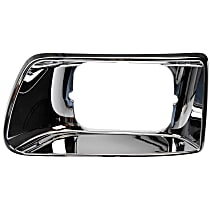 889-5406 Headlight Bezel - Chrome, Direct Fit, Sold individually