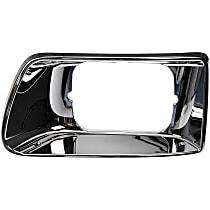Dorman 889-5406 Headlight Bezel - Chrome, Direct Fit, Sold individually