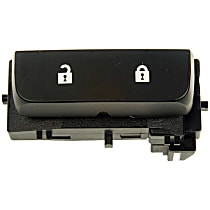 Dorman 901-119 Door Lock Switch - Black, Direct Fit, Sold individually