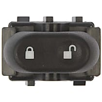 Dorman 901-325 Door Lock Switch - Black, Direct Fit, Sold individually