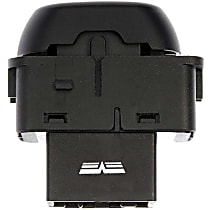 Dorman 901-331 Door Lock Switch - Black, Direct Fit, Sold individually