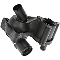Dorman 902-061 Thermostat Housing - Black, Plastic, Direct Fit, Sold individually