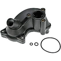 Dorman 902-1029 Thermostat Housing - Black, Plastic, Direct Fit, Sold individually