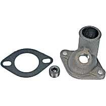 902-2046 Thermostat Housing - Natural, Metal, Direct Fit, Sold individually