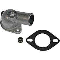 902-2064 Thermostat Housing - Natural, Metal, Direct Fit, Sold individually
