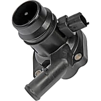 Dorman 902-808 Thermostat Housing - Black, Plastic, Direct Fit, Sold individually
