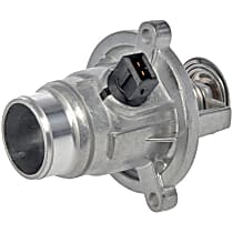 902-817 Thermostat Housing - Natural, Aluminum, Direct Fit, Sold individually