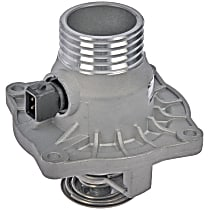 902-818 Thermostat Housing - Silver, Aluminum, Direct Fit, Sold individually