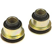 Steering Rack Bushing - Black, Rubber, Direct Fit, Set of 2
