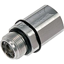 Dorman 905-906 Brake Proportioning Valve - Gray and silver/zinc-plated, Aluminum, Direct Fit, Sold individually