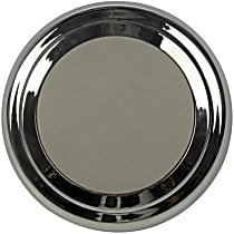909-036 Hub Cap - Chrome, Plastic, Direct Fit, Sold individually