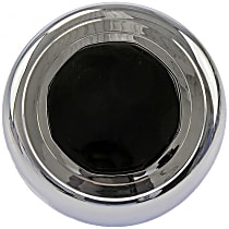 909-037 Hub Cap - Chrome, Plastic, Direct Fit, Sold individually