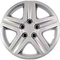 910-101 Hub Cap - Gray, Plastic, Direct Fit, Sold individually