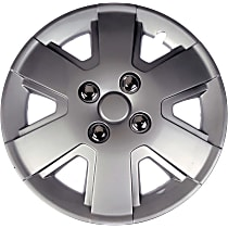 Dorman 910-106 Hub Cap - Gray, Plastic, Direct Fit, Sold individually