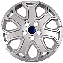 910-108 Hub Cap - Gray, Plastic, Direct Fit, Sold individually