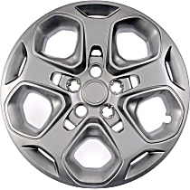 910-109 Hub Cap - Gray, Plastic, Direct Fit, Sold individually