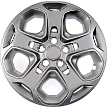 Dorman 910-109 Hub Cap - Gray, Plastic, Direct Fit, Sold individually