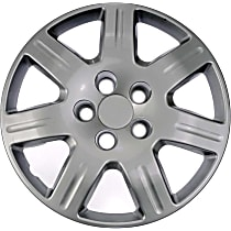 Dorman 910-110 Hub Cap - Gray, Plastic, Direct Fit, Sold individually