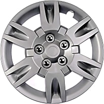 Dorman 910-119 Hub Cap - Gray, Plastic, Direct Fit, Sold individually