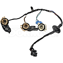 Tail Light Wiring Harness - Direct Fit, Sold individually Driver or Passenger Side