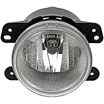 Front, Driver or Passenger Side Fog Light, With bulb(s)