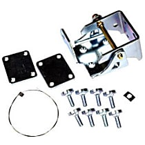 Dorman Door Hinge - 924-107 - Front, Driver Side, Lower, Chrome, Direct Fit, Sold individually