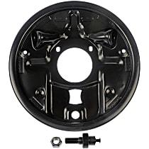 Dorman 924-220 Brake Dust Shields - Black, Direct Fit Rear, Sold individually