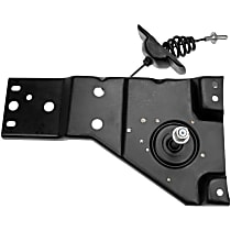 Spare Tire Carrier - Direct Fit, Sold individually