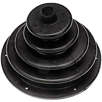 Dorman 924-5406 Shift Boot - Black, Rubber, Direct Fit, Sold individually