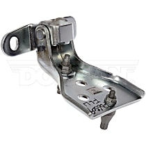 925-073 Door Hinge - Front, Driver Side, Upper, Zinc and Clear Chromate, Carbon Steel, Direct Fit, Sold individually