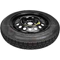 Dorman 926-023 Wheel and Tire Package - Black, Steel, Direct Fit, Sold individually