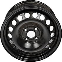 939-100 Black Finish Wheel - 15 in. Wheel Diameter X 6 in. Wheel Width