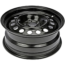 Black Finish Wheel - 15 in. Wheel Diameter X