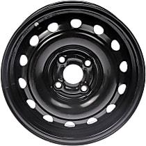 939-105 Black Finish Wheel - 14 in. Wheel Diameter X 5.5 in. Wheel Width
