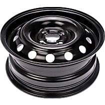 Black Finish Wheel - 14 in. Wheel Diameter X 5.5 in. Wheel Width