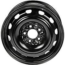 939-107 Black Finish Wheel - 16 in. Wheel Diameter X 6.5 in. Wheel Width