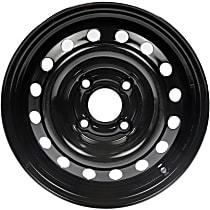 Black Finish Wheel - 15 in. Wheel Diameter X