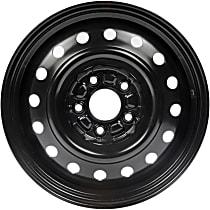 Black Finish Wheel - 16 in. Wheel Diameter X